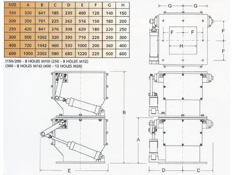 CH Double Flap Valve Specification