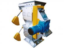CH-600 Double Flap Valve with Isolation Gate - Tyre Chip Feeder