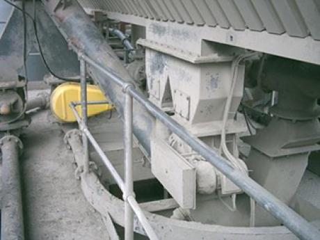 Double Flap Valve installed at Coating Plant